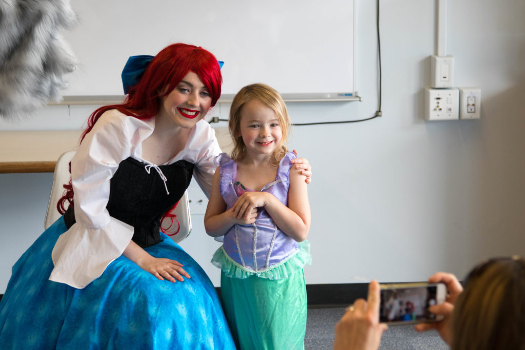 Ariel Took Time to Meet Perhaps a Long-Lost Relative?